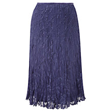 Buy CC Petite Crinkle Skirt, Lavender Online at johnlewis.com