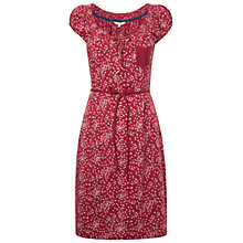 Buy White Stuff Ellie Dress, Old Red Wine Online at johnlewis.com