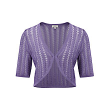 Buy CC Petite Crochet Bolero, Wisteria Online at johnlewis.com