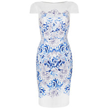Buy Damsel in a dress Alec Printed Dress, Blue Print Online at johnlewis.com