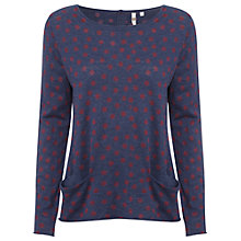 Buy White Stuff Lottie Jumper, Twilight Blue Online at johnlewis.com