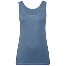 Buy White Stuff Galaxy Vest, Pale Cool Air Blue Online at johnlewis.com
