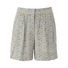Buy NW3 by Hobbs Shell Shorts, Ivory Multi Online at johnlewis.com