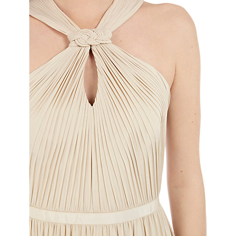 Buy Coast Claudia Jersey Dress, Champagne Online at johnlewis.com
