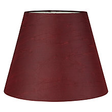 Buy John Lewis Florence Textured Satin Shade Online at johnlewis.com