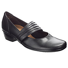 Buy Gabor Candy Pumps, Black Online at johnlewis.com