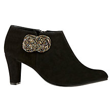 Buy Van Dal Bintree Suede Ankle Boots, Black Online at johnlewis.com