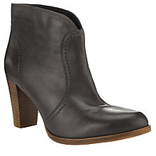 Buy John Lewis Pull-On Ankle Boots, Grey Online at johnlewis.com