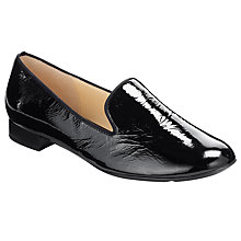 Buy Gabor Abalina Patent Loafers, Black Online at johnlewis.com