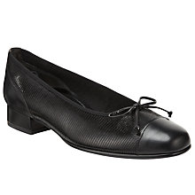 Buy Gabor Emporium Pumps, Black Online at johnlewis.com