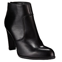 Buy COLLECTION by John Lewis Dunst Back Zip Ankle Boots, Black Online at johnlewis.com
