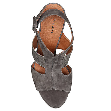 Buy John Lewis Laura Wedged Sandals Online at johnlewis.com