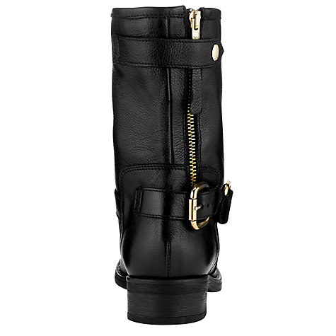 Buy COLLECTION by John Lewis MC Adams Biker Boots, Black Online at johnlewis.com