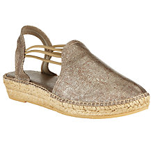 Buy John Lewis Nuria Espadrilles, Tan Online at johnlewis.com