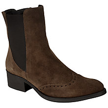 Buy John Lewis Trieste Ankle Boots, Tobacco Online at johnlewis.com