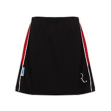 Buy The Red Maids' Junior and Senior School Girl' PE Skort, Black/Red Online at johnlewis.com