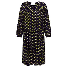 Buy Collection WEEKEND by John Lewis Ditsy Flower Print Dress, Black Online at johnlewis.com