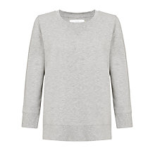 Buy Collection WEEKEND by John Lewis Sweat Jersey Top, Grey Marl Online at johnlewis.com