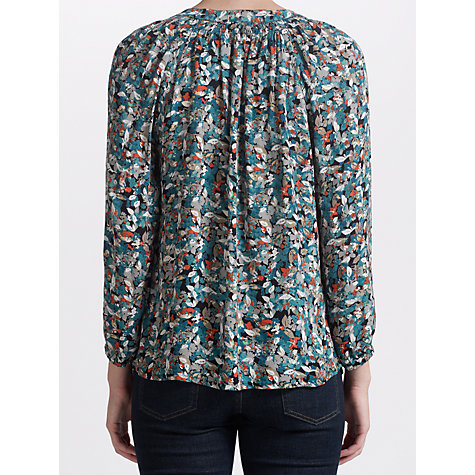 Buy Collection WEEKEND by John Lewis Smock Neck Printed Blouse, Multi Online at johnlewis.com