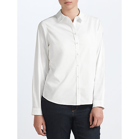 Buy John Lewis Capsule Collection Perfect Shirt, White Online at johnlewis.com