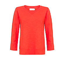 Buy Collection WEEKEND by John Lewis Sweat Jersey Top, Poppy Online at johnlewis.com