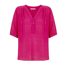 Buy John Lewis Capsule Collection Full Sleeve Smock Top Online at johnlewis.com