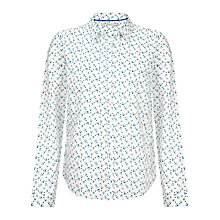 Buy John Lewis Capsule Collection Print Shirt, Navy Online at johnlewis.com