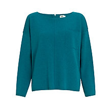 Buy Kin by John Lewis Reverse Roll Edge Jumper Online at johnlewis.com
