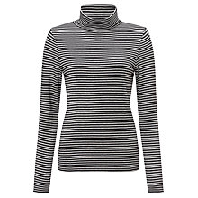 Buy John Lewis Striped Roll Neck Jersey Top Online at johnlewis.com