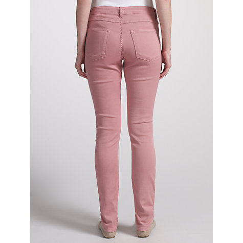 Buy Kin by John Lewis Skinny Stretch Jeans, Pink Online at johnlewis.com