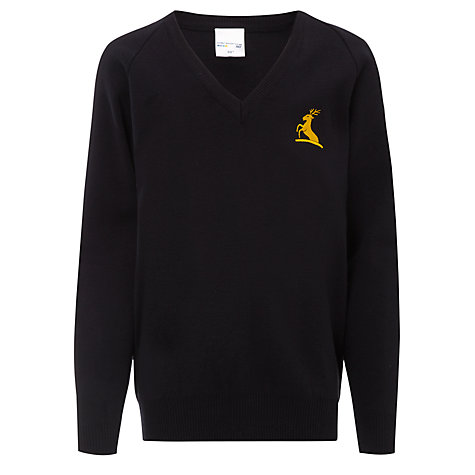 Buy Colfe's School Unisex Jumper, Navy Blue Online at johnlewis.com