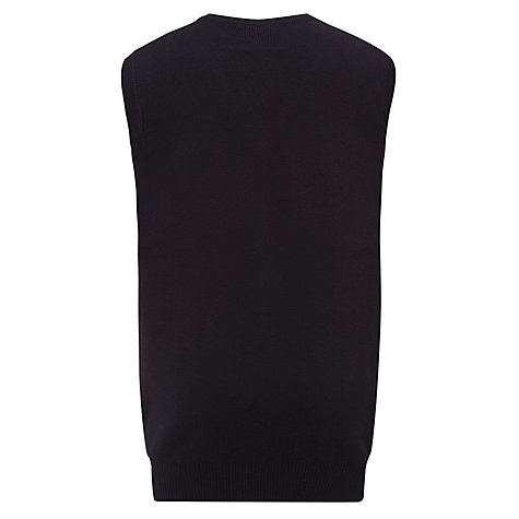 Buy Colfe's School Unisex V-Neck Tank-Top Jumper, Navy Blue Online at johnlewis.com