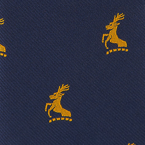 Buy Colfe's School Boys' Jaquard Tie, Navy Blue Online at johnlewis.com