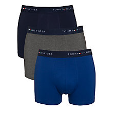 Buy Tommy Hilfiger Flag Trunks, Pack Of 3 Online at johnlewis.com
