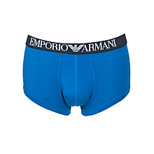 Buy Emporio Armani Cotton Trunks Online at johnlewis.com