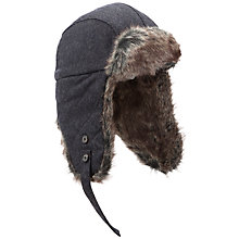 Buy Barbour Grasm Hunter Hat, Grey Online at johnlewis.com