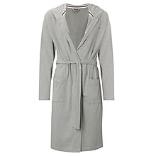 Buy Tommy Hilfiger Stillman Bath Robe, Grey Online at johnlewis.com