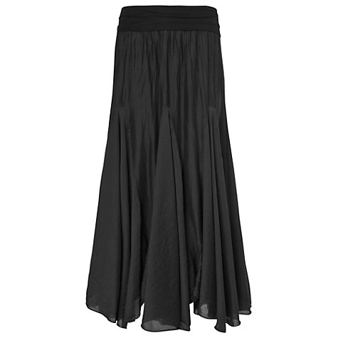 Buy Phase Eight Made in Italy Anastasia Skirt, Black Online at johnlewis.com
