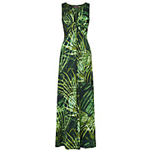 Buy Phase Eight Palm Print Maxi Dress, Cactus Online at johnlewis.com