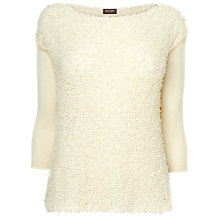 Buy Phase Eight Louie Jumper, Ivory Online at johnlewis.com