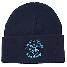 Buy Sacred Heart School Unisex Ski Hat, Navy Online at johnlewis.com