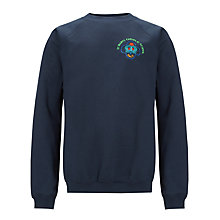 Buy St Mary's Catholic School Unisex Sweatshirt, Navy Blue Online at johnlewis.com