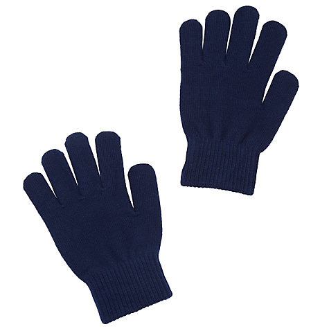 Buy Colfe's School Unisex Gloves, Navy Blue Online at johnlewis.com