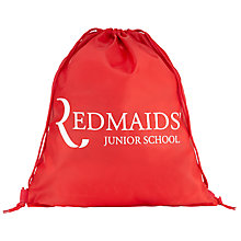 Buy The Red Maids' Junior School Girls' Printed PE Bag, Red Online at johnlewis.com