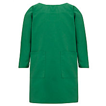 Buy Ibstock Place School Smock, Green Online at johnlewis.com