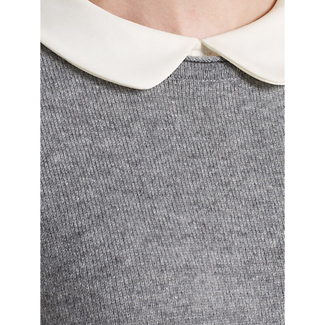 Buy Somerset by Alice Temperley Oversized Cashmere Jumper, Grey Online at johnlewis.com