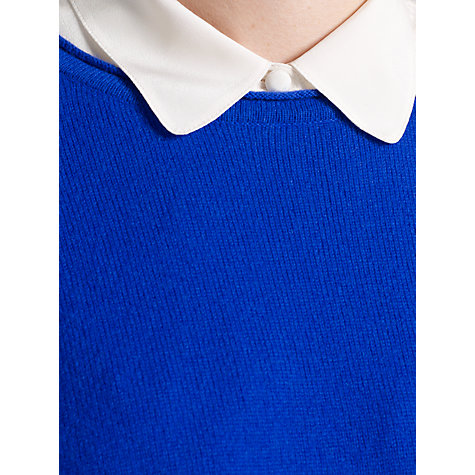 Buy Somerset by Alice Temperley Oversized Cashmere Jumper, Blue Online at johnlewis.com