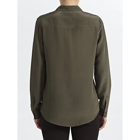 Buy COLLECTION by John Lewis Abbey Utility Shirt, Olive Online at johnlewis.com