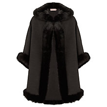 Buy John Lewis Maria Hooded Cape Coat Online at johnlewis.com