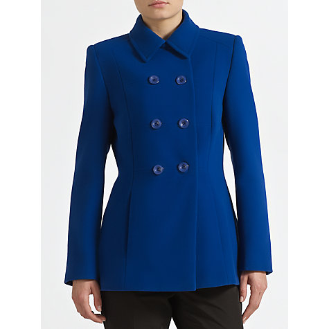Buy John Lewis Reefer Jacket, Cobalt Online at johnlewis.com